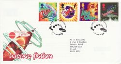 1995-06-06 Science Fiction Stamps Wells FDC (78258)