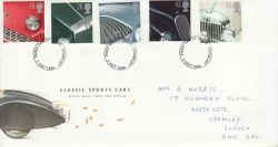 1996-10-01 Classic Sports Cars Crawley FDC (78279)