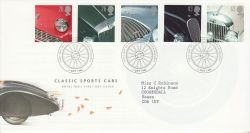 1996-10-01 Classic Cars Stamps Beaulieu FDC (78280)