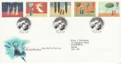 1996-10-28 Christmas Stamps Bethlehem FDC (78289)
