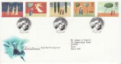 1996-10-28 Christmas Stamps Bethlehem FDC (78291)