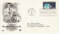 1984-05-17 USA Health Research Stamp FDC (78471)