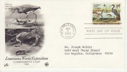 1984-05-11 USA River Wildlife Stamp FDC (78472)