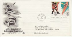 1984-05-04 USA Olympic Games Stamps FDC (78508)