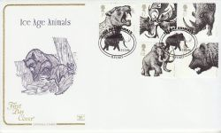 2006-03-21 Ice Age Animals Stamps Ilford FDC (78520)