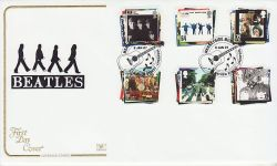 2007-01-09 Beatles Stamps Mathew Street FDC (78532)