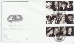2007-10-16 Diamond Wedding Westminster SW1 FDC (78546)