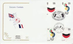 2004-04-06 Entente Cordiale London / Paris FDC (78554)