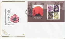 2007-11-08 Lest We Forget M/S Monument Rd FDC (78563)