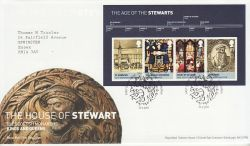 2010-03-23 House of Stewart Stamps M/S T/House FDC (78571)