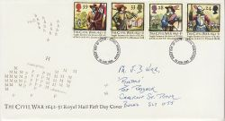 1992-06-16 Civil War Stamps Hemel Hempstead FDC (78617)