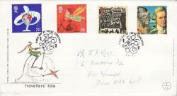 1999-02-02 Travellers Tale Stamps Coventry FDC (78619)