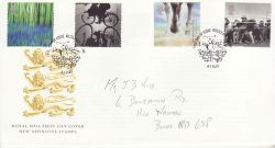 2000-07-04 Stone and Soil Stamps Killyleagh FDC (78620)