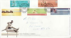 2002-07-16 Commonwealth Games Manchester FDC (78623)