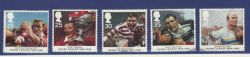 1995-10-03 Rugby League Stamps Used Set (78629)