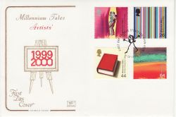 1999-12-07 Artists Tale Stamps Stratford FDC (78687)