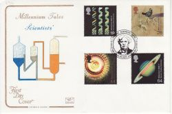 1999-08-03 Scientists Tale Royal Society W1 FDC (78692)