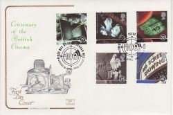 1996-04-16 Cinema Stamps London WC2 FDC (78703)