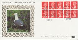 1988-10-11 New Format Booklet Stamps £1.90 Windsor FDC (79064)