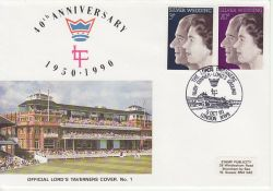 1990-10-09 Cricket Official Lord's Taverners Souv (79277)