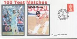 2000-08-03 Cricket 100 Test Matches Souv (79280)