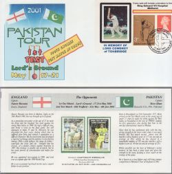 2001-05-17 Cricket Pakistan Tour Souv (79281)