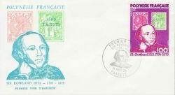 1979-08-01 French Polynesia Rowland Hill FDC (79285)