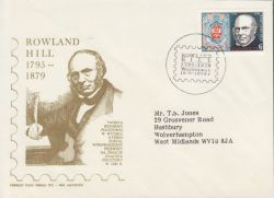 1979-08-16 Poland Rowland Hill Stamp FDC (79289)