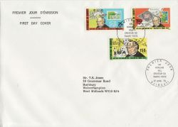 1979-04-17 Djibouti Rowland Hill Stamps FDC (79306)