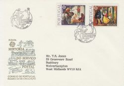 1979-04-30 Portugal Europa Stamps FDC (79315)