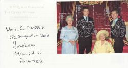 2000-08-04 Queen Mother M/S London SW1 FDC (79476)