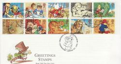 1994-02-01 Greetings Stamps Paddington W2 FDC (79555)