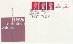 1980-01-16 Coil Stamps Southampton cds FDC (79558)