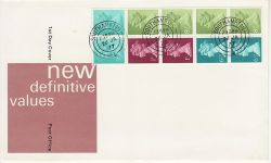 1977-01-26 Definitive Booklet Stamps Southampton cds (79560)