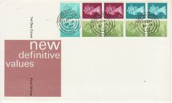 1977-01-26 Definitive Booklet Stamps Southampton cds (79561)