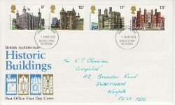 1978-03-01 Historic Buildings Stamps Kings Lynn FDC (79733)