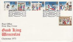 1973-11-28 Christmas Stamps Bethlehem FDC (79849)