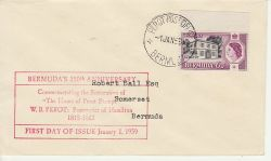 1959-01-01 Bermuda Perot's Post Office Stamp FDC (79930)