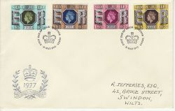 1977-05-11 Silver Jubilee Stamps Windsor FDC (80051)