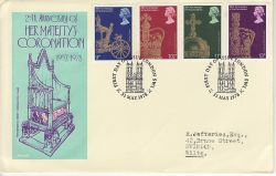 1978-05-31 Coronation Stamps London SW1 FDC (80052)