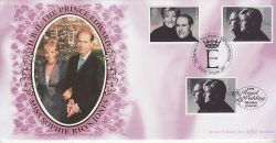 1999-06-15 Royal Wedding Stamps Windsor FDC (80132)