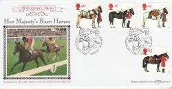 1997-07-08 Queens Horses Stamps Windsor FDC (80135)