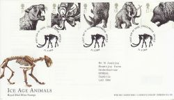 2006-03-21 Ice Age Animals Freezywater FDC (80221)