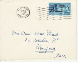 1963-12-03 Compac Stamp Northwood FDC (80226)