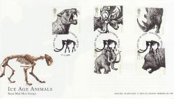 2006-03-21 Ice Age Animals Stamps Freezywater FDC (80280)