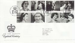 2006-04-18 Queens 80th Birthday WINDSOR Pmk FDC (80281)