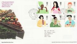 2005-08-23 Changing Tastes in Britain Cookstown FDC (80289)