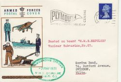1971-05-07 Posted on Nuclear Submarine HMS Repulse (80320)
