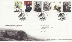 2005-02-24 Jane Eyre Stamps Haworth FDC (80331)