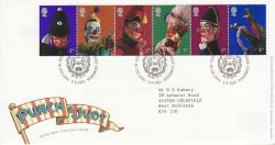 2001-09-04 Punch & Judy T/House FDC (80409)